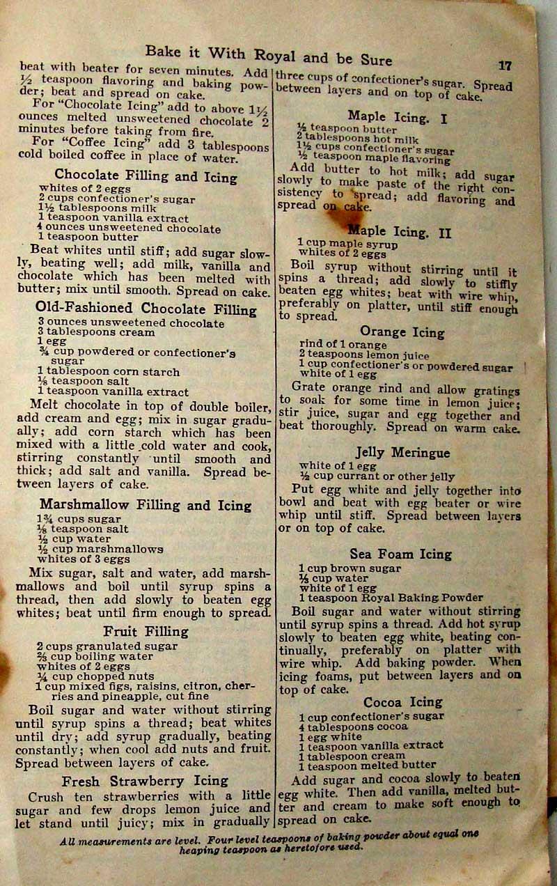 Old Time Jam Cake Recipe