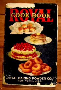 Royal baking Powder book