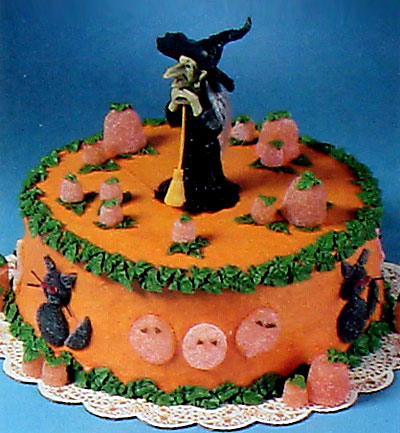 halloween cake decorating idea
