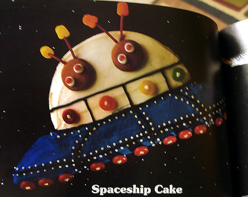 Spaceship cake recipes