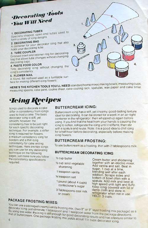 Cake Decorating Books 2. Cake Decorating Tools You Need