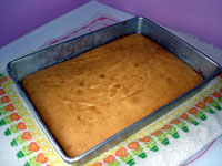 Easy Yellow Cake
