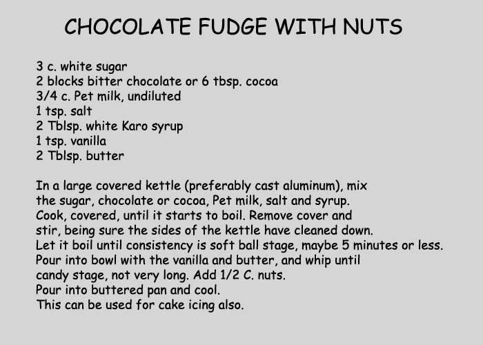 Easy Homemade Chocolate Fudge Recipes