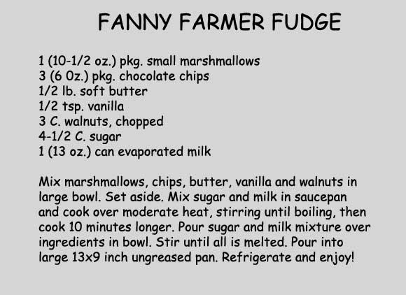 fanny farmer chocolate