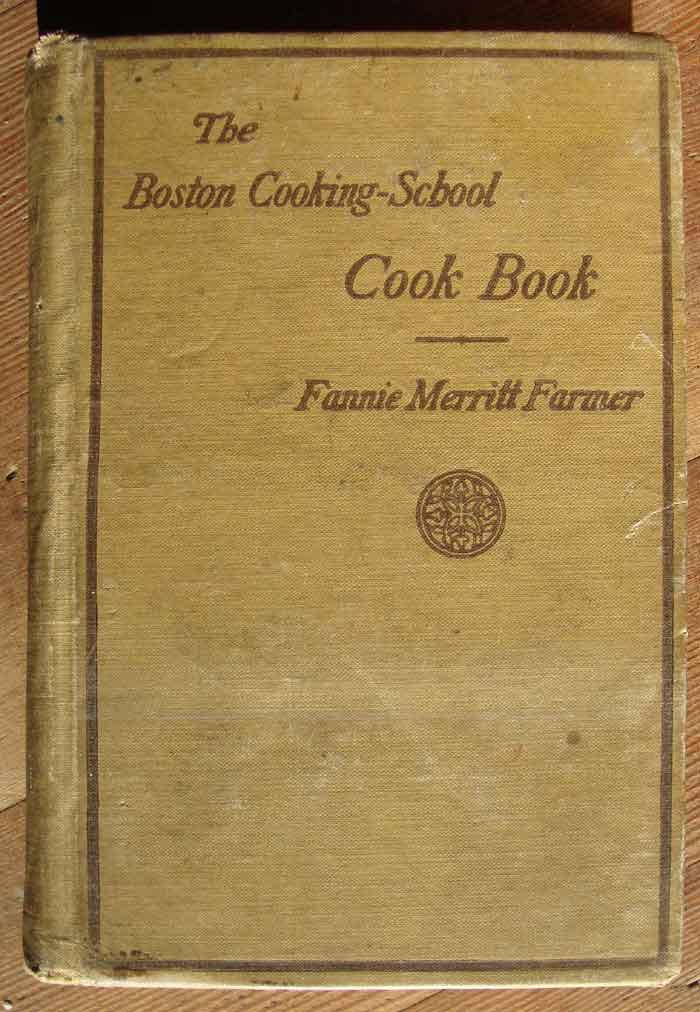 fanny farmer cookbook