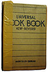 1937 Universal Cookbook
