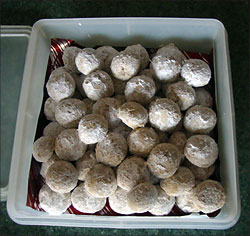 snowballs or Russian Teacakes