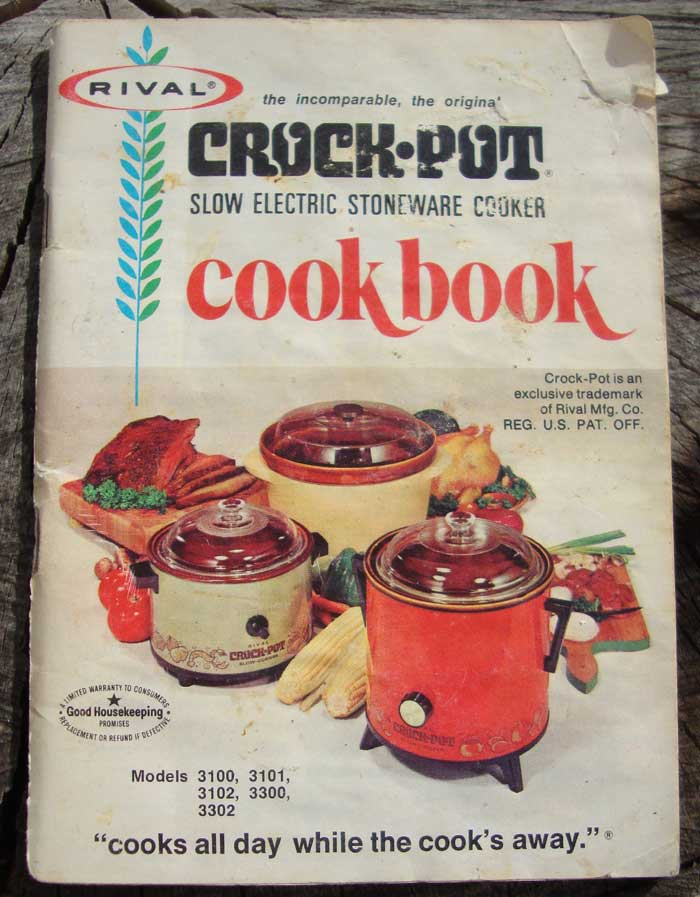 Old Rival Crockpot Recipes And Directions Manual Oldrecipebook