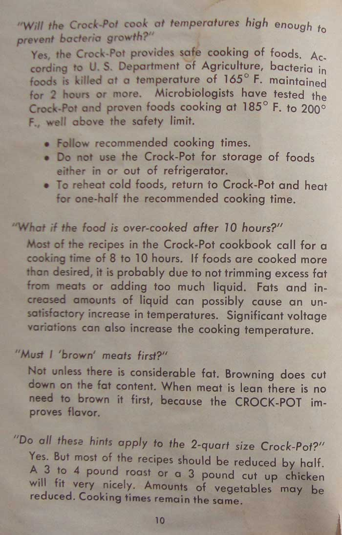 old rival crockpot recipes and directions manual oldrecipebook com rh oldrecipebook com rival rice cooker instruction manual rival roaster instruction manual