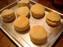 Biscuits made with oil