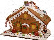 Gingerbread cottage picture