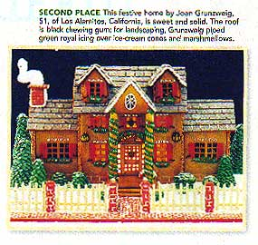 Gingerbread House Picture