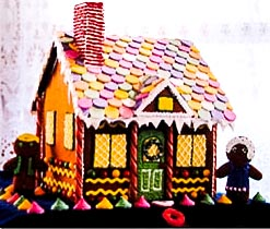 how to make a candy house out of cardboard