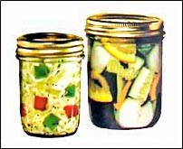Canning Vegetable relishes