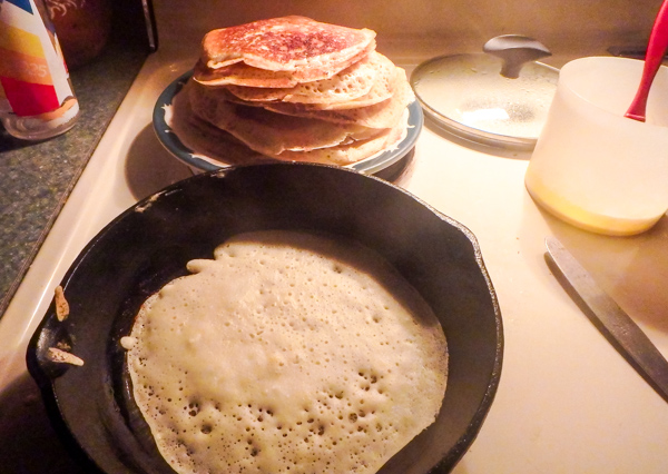 Cooking Blini