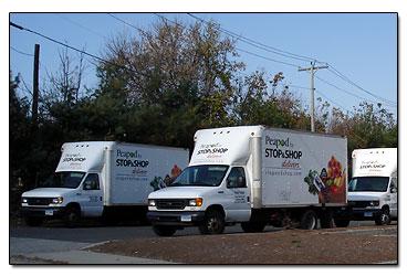 peapod trucks