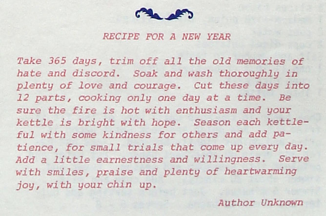 Recipe For Happiness And Many Other Special Recipes